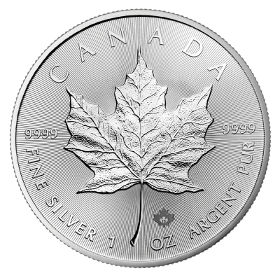 1 oz Maple Leaf Silbermünze (2018)