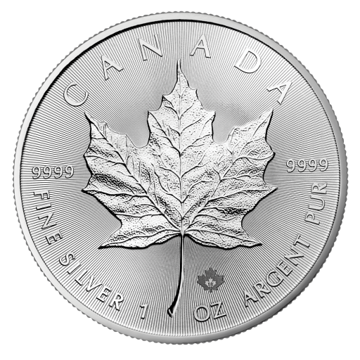 1 oz Silver Maple Leaf Coin (2018)