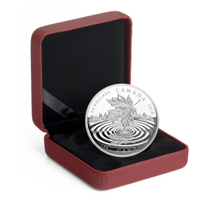 1 oz Maple Leaf Reflection Proof Silver Coin