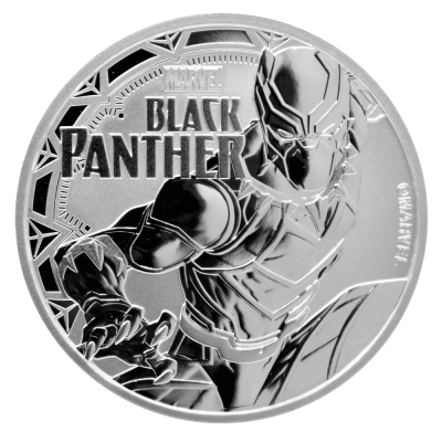 1 oz Marvel's Black Panther Silver Coin (2018)