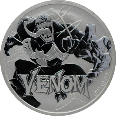 1 oz Moneta d'argento Marvel Venom (2020)