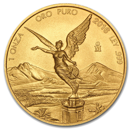 1 oz Mexican Libertad | Gold | 2016