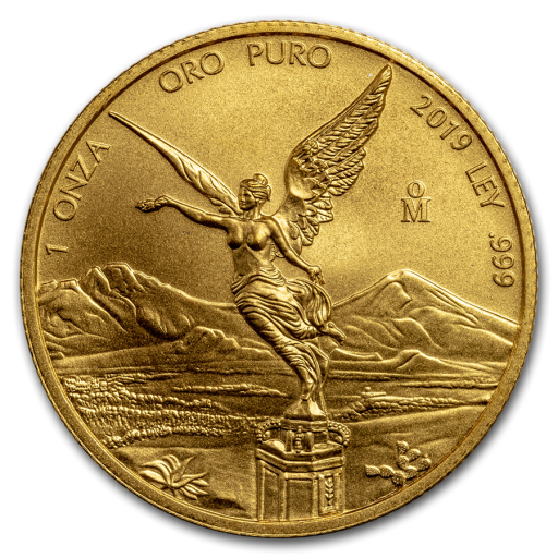 1 oz Mexican Libertad Gold Coin (2019)