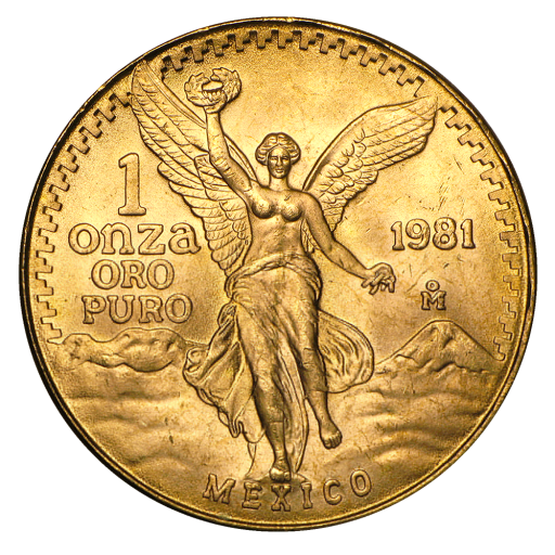 1 oz Mexican Libertad Gold Coin First Issue (1981)