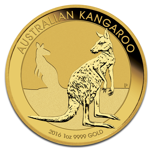 1 oz Nugget Kangourou | Or | 2016