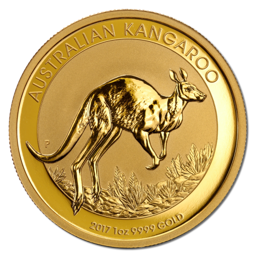 1 oz Nugget Kangaroo | Gold | 2017