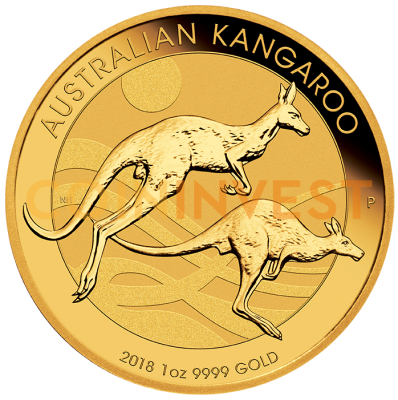 1 oz Nugget Kangaroo Gold Coin (2018)