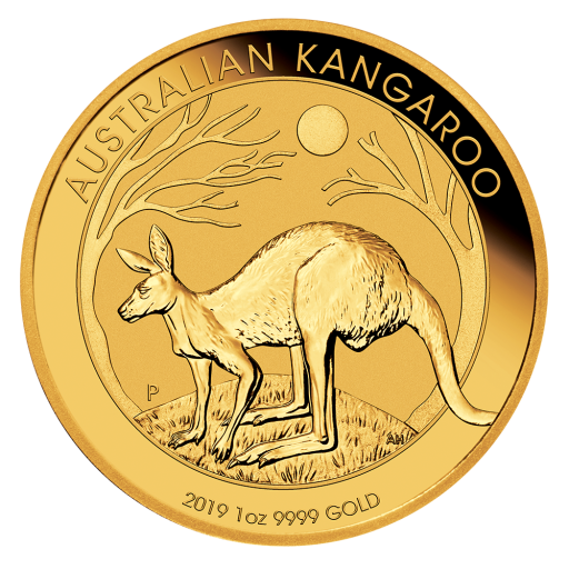 1 oz Nugget Kangaroo Gold Coin (2019)