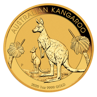 1 oz Nugget Kangaroo Gold Coin (2020)