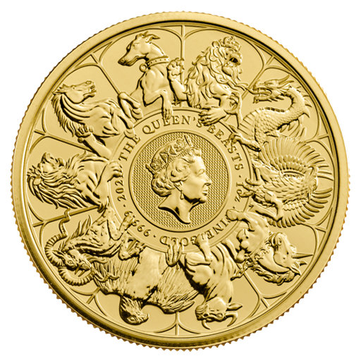 1 oz Queen's Beasts The Completer Gold Coin (2021)