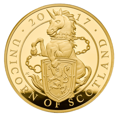 Unicorn gold coin cryptocurrency