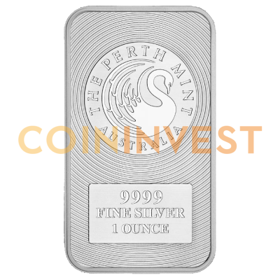 1 oz Lingotto d'Argento Canguro | Perth Mint
