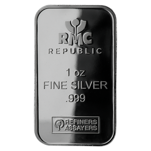1 oz Lingot d'Argent | Republic Metals