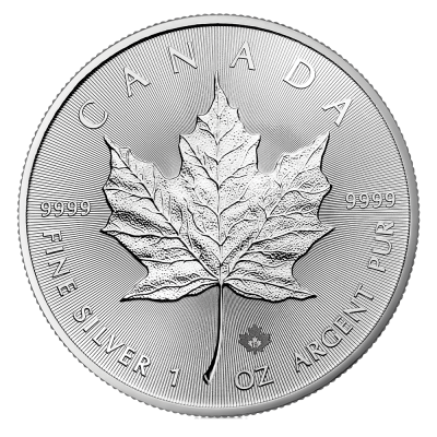 1 oz Silver Maple Leaf Coin (2019)