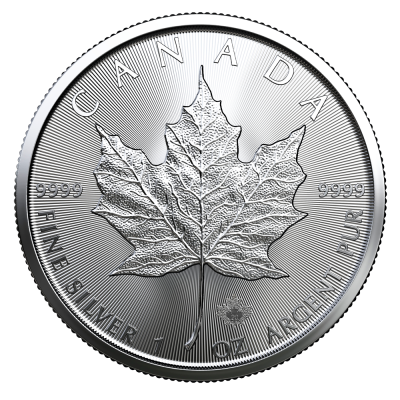 1 oz Maple Leaf | Plata | 2020