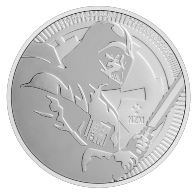 1 oz STAR WARS Darth Vader Silver Coin (2020)