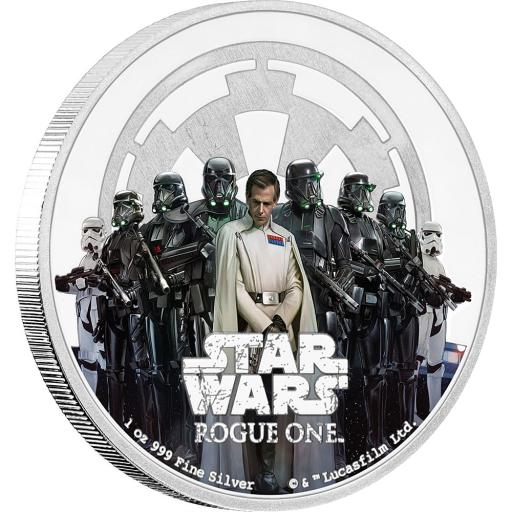 1 oz STAR WARS Rogue One - The Empire | Silver | 2017