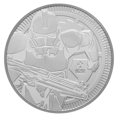 1 oz STAR WARS The Clone Trooper | Plata | 2019