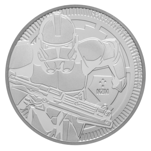 1 oz STAR WARS The Clone Trooper | Silver | 2019