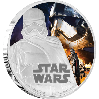1 oz STAR WARS The Force Awakens - Captain Phasma™ | Silver | 2016