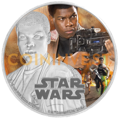 1 oz STAR WARS The Force Awakens - Finn™ | Argent | 2016