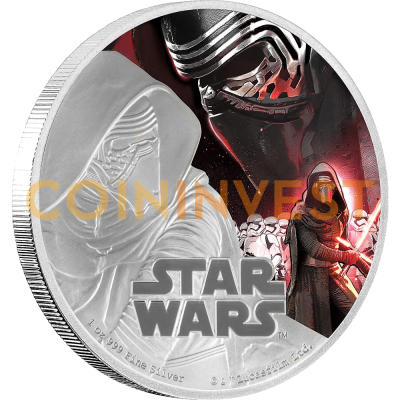 1 oz STAR WARS The Force Awakens - Kylo Ren™ | Argento | 2016