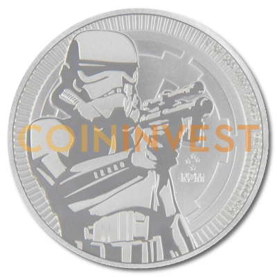 1 oz STAR WARS The Stormtrooper | Silber | 2018