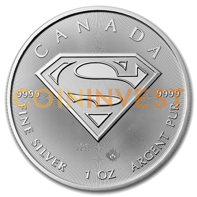 1 oz Superman™ | Argento