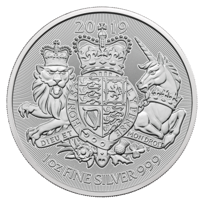 1 oz The Royal Arms d'argento (2019)
