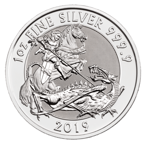 1 oz The Valiant Silver Coin (2019)