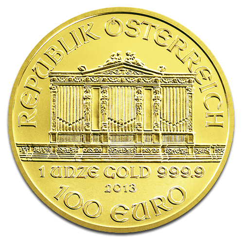 1 oz Philharmonique de Vienne | Or | 2013