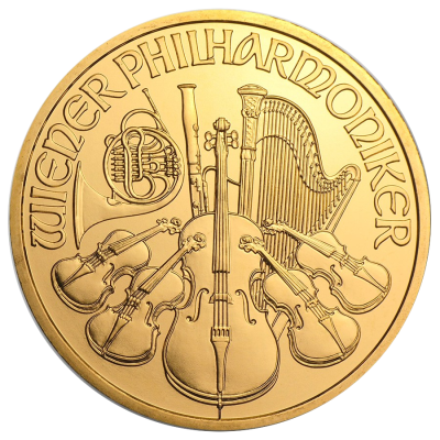 1 oz Vienna Philharmonic | Gold | mixed years