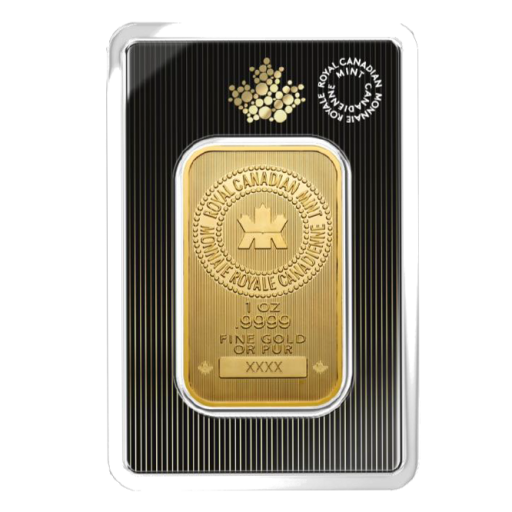 1 oz Wafer Gold Bar | Royal Canadian Mint