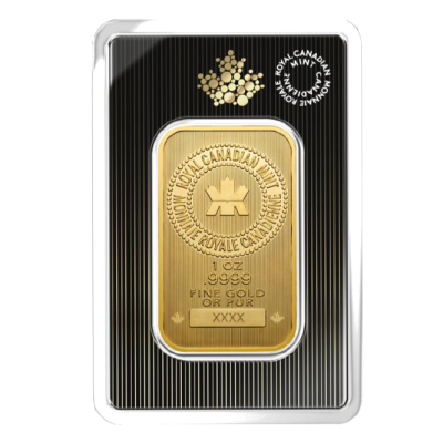 1 oz Bar d'Or Plaquette | Royal Canadian Mint