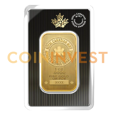 1 oz Lingotto d'oro | Wafer | Royal Canadian Mint