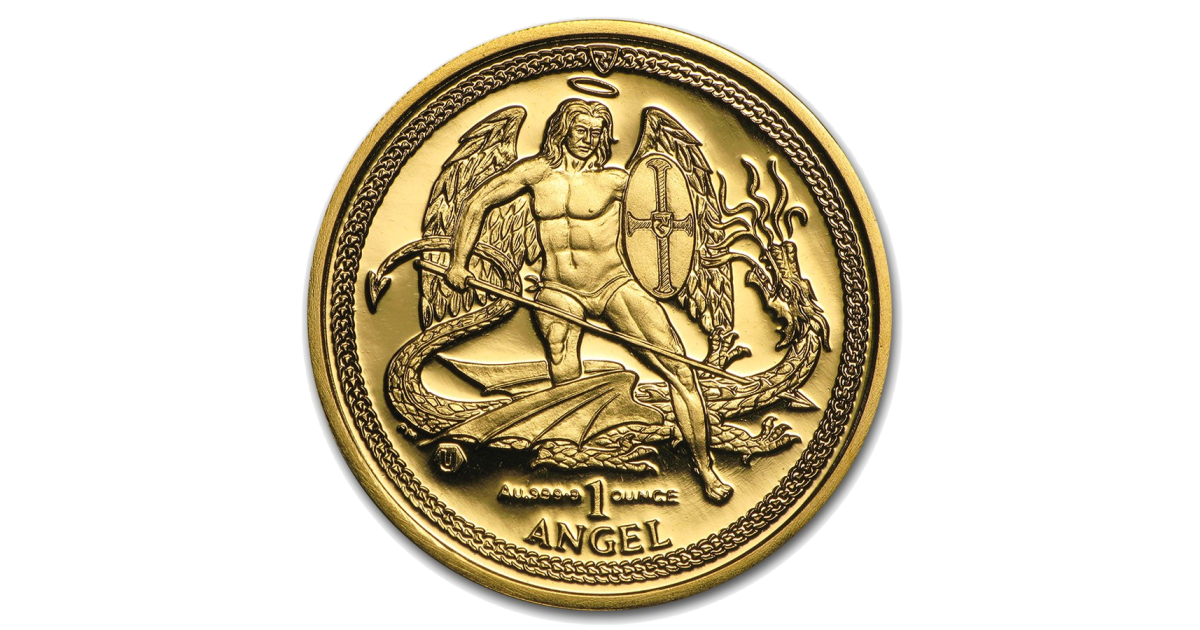 Buy Gold Angel Coins Isle Of Man Coins Coininvest Com