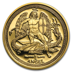 Isle of Man Angel Gold Coin