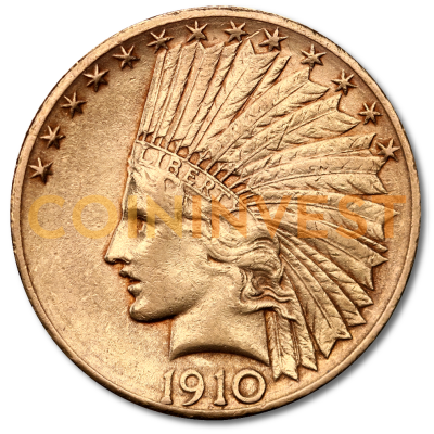 "10 Dollar Eagle ""Indian Head"" 