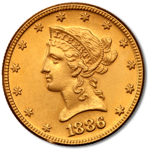 "10 Dollar Eagle ""Liberty Head"" 