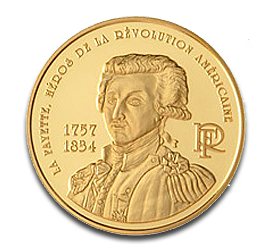 10 Euro France Lafayette | Gold | 2007