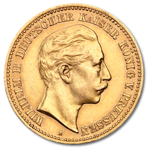 10 Mark Empereur Wilhelm II Prusse | Or | 1889-1913