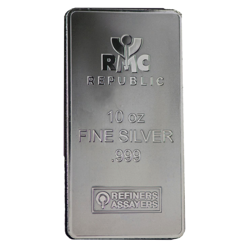 10 oz Silberbarren | Republic Metals