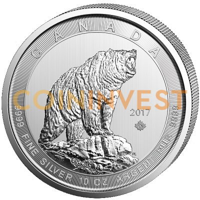10 oz Grizzly | Argent | 2017