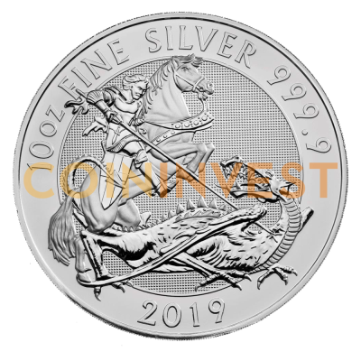 10 oz The Valiant Silver Coin (2019)
