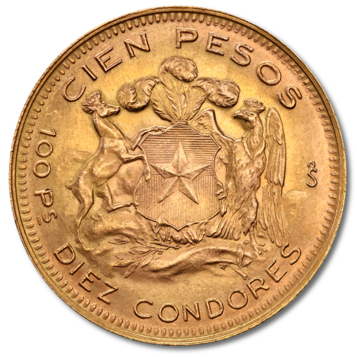100 Chilenische Pesos Liberty | Gold | 1895-1980
