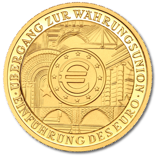 100 Euro European Monetary Union | Gold | 2002 | Mintmark F