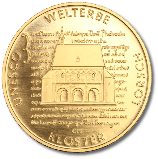 100 Euro UNESCO Abbey of Lorsch | Gold | 2014 | Mintmark A