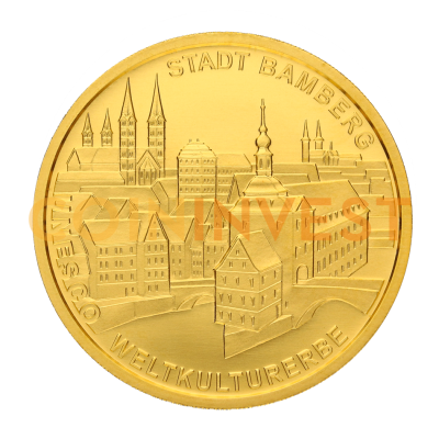 100 Euro UNESCO Bamberg Old Town | Gold | 2004 | Mintmark F