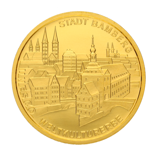 100 Euro UNESCO Bamberg Old Town | Gold | 2004 | Mintmark G