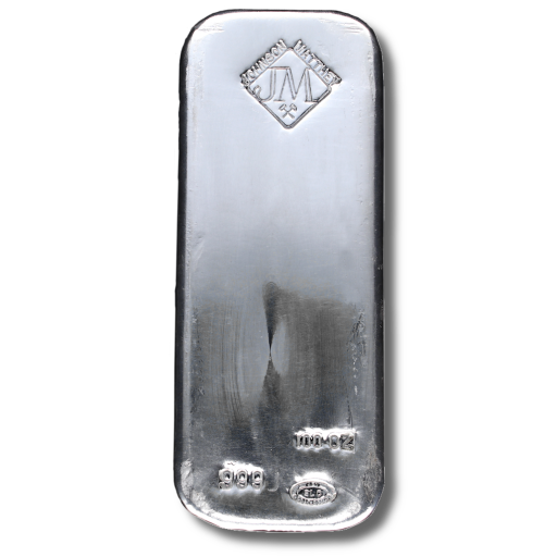 100 oz Silver Bar | Johnson Matthey